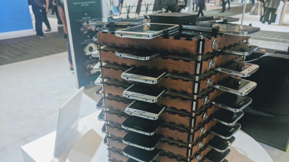 Bitcoins minen met oude Samsungsmartphones